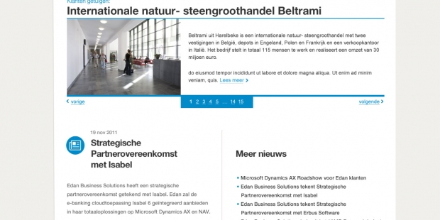 Edan ICT responsive website